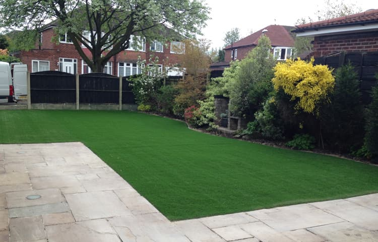 New Lawn for Renovated Property in Hale, Manchester