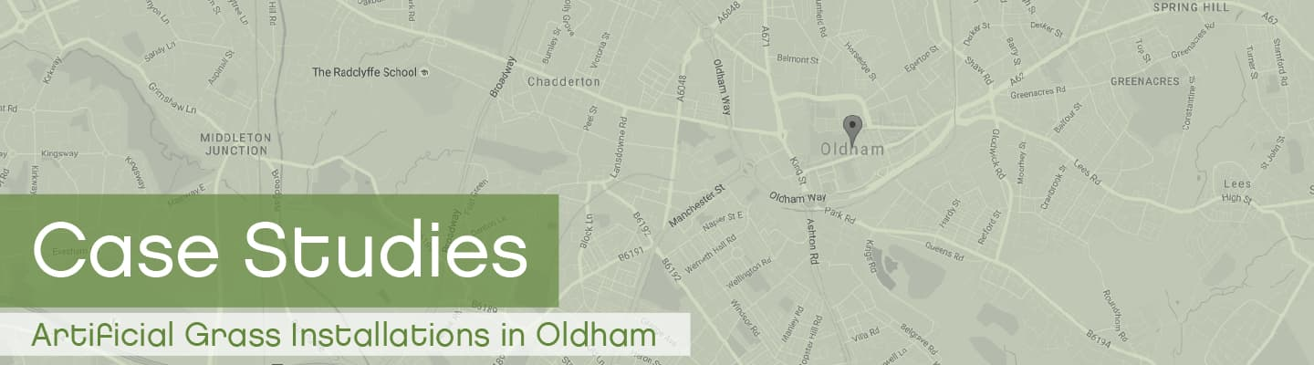 Artificial Grass Oldham Case Studies