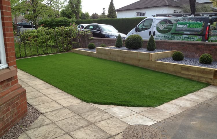 Artificial Grass Lawn in Hale